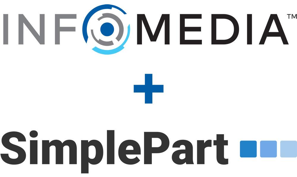 Infomedia + SimplePart logo