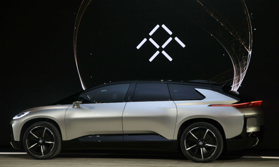 Evergrande Health Which Holds A 45 Percent Stake In Faraday Future Says S First High End Vehicle The Ff91 Has Arrived At Its Production Base