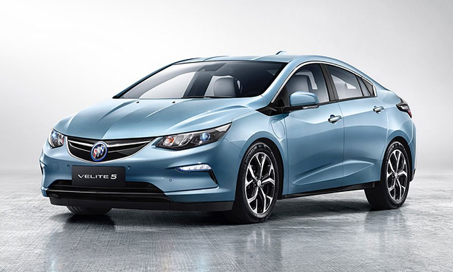 Buick Rolled Out Its Version Of The Chevrolet Volt For Chinese Market This Week With Upscale Hybrid Dubbed Velite 5 In Middle Kingdom