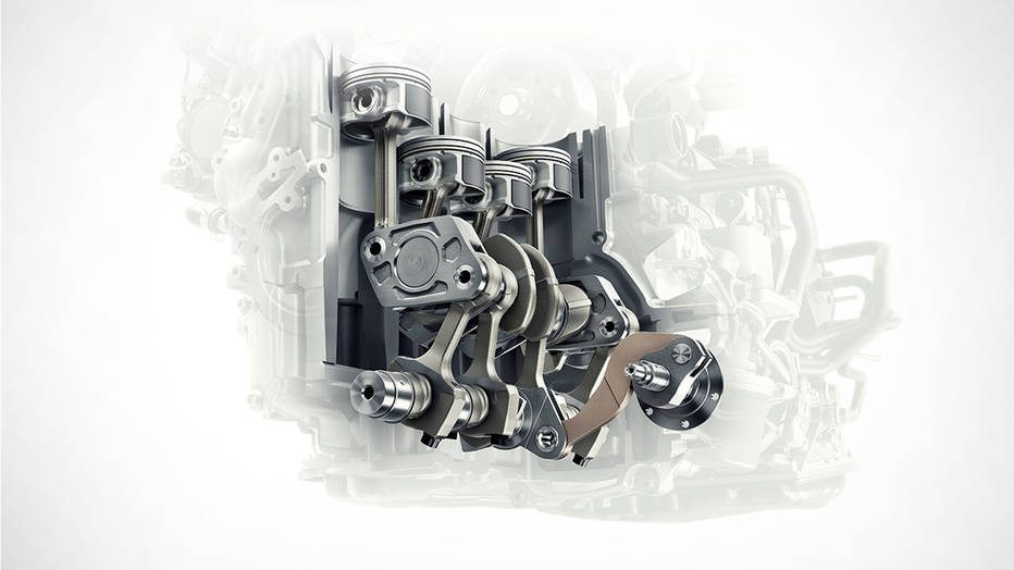 A look inside the Infiniti VC-Turbo engine