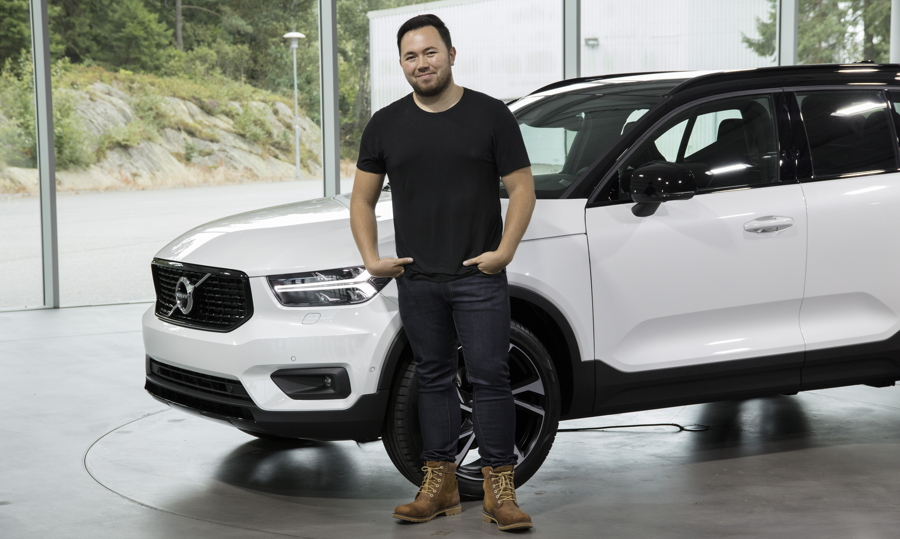 Volvo designer achieves rare feat with XC40