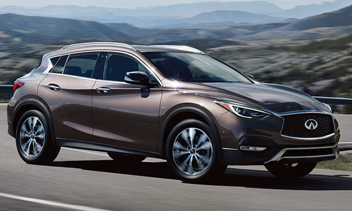 Nissan North America Is Recalling 2017 18 Infiniti Qx30 Crossovers Because Poor Grounding Of Steering Components Could Cause The Driver Side Airbag To