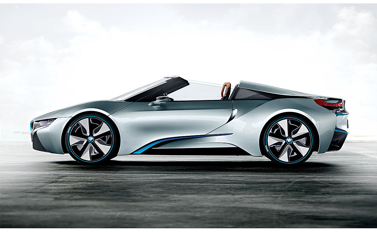 Bmw I8 Will Drop The Top