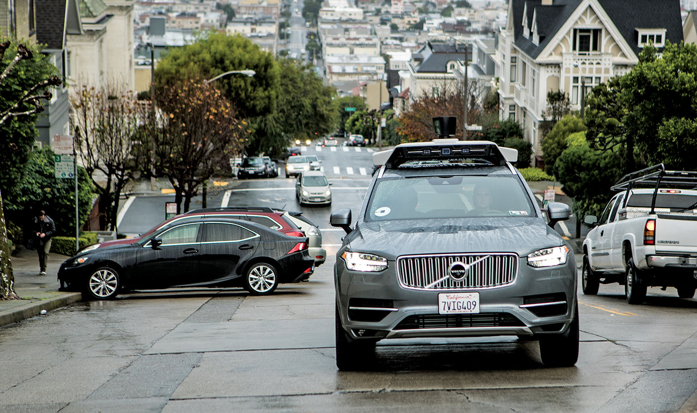 Volvo Sticks With Uber Partnership