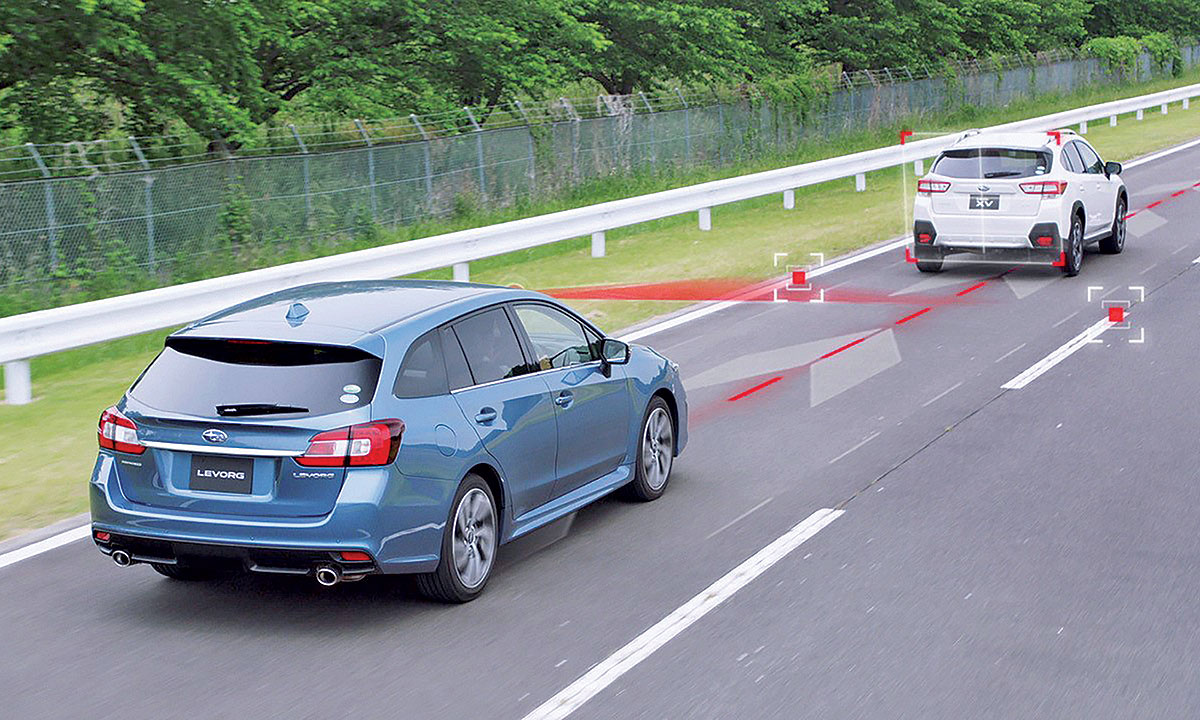 Subaru steps up self-driving capability with EyeSight update