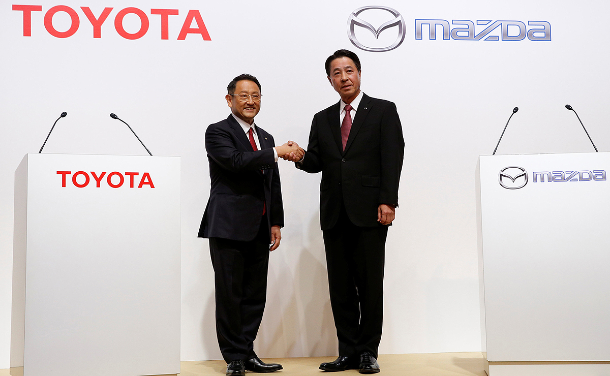 Toyota Mazda Will Launch 1 6 Billion Alabama Plant Construction Next Month