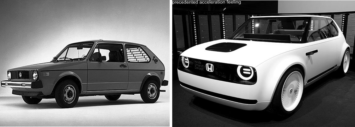 Honda Made Waves Last Week At The Frankfurt Auto Show By Unveiling An Electric Car That First Glance Ears To Be A 1970s Volkswagen Rabbit