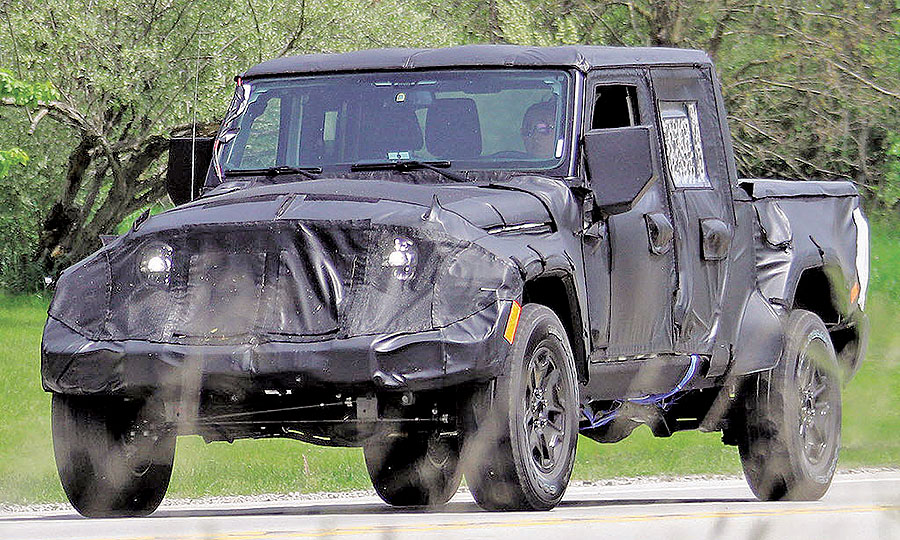 Wrangler Pickup Should Be In Dealerships By Next April