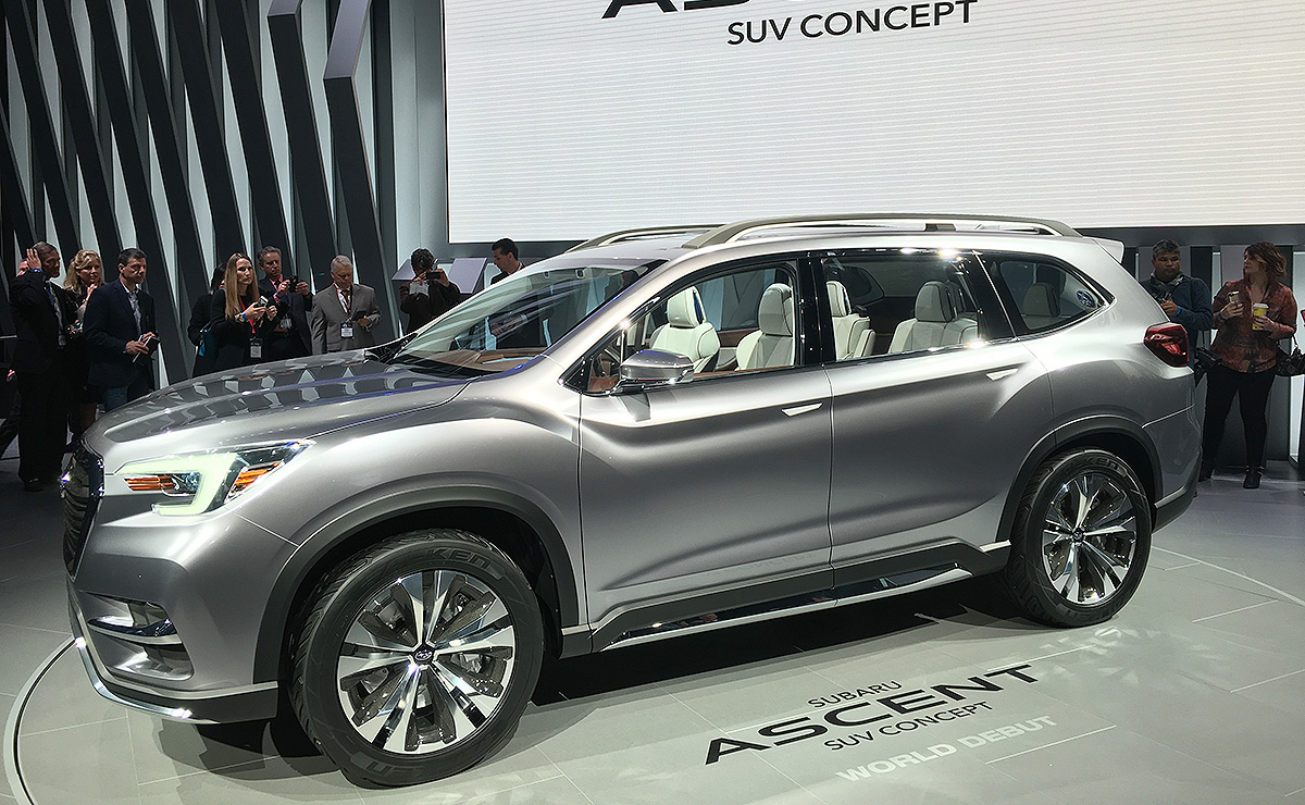 New Ascent Three Row Crossover To Be Followed By Plug In Hybrid Ev