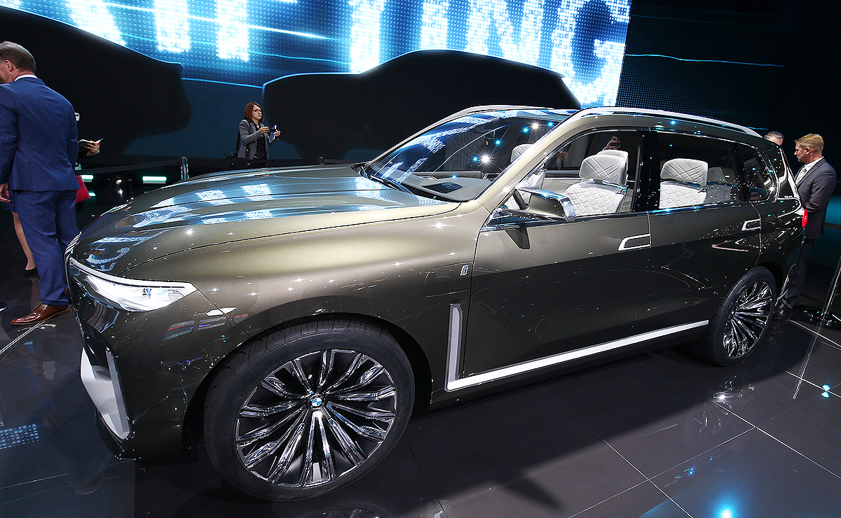 Bugs Bunny Glam And Hockey Sticks What People Think Of Bmw Concept X7