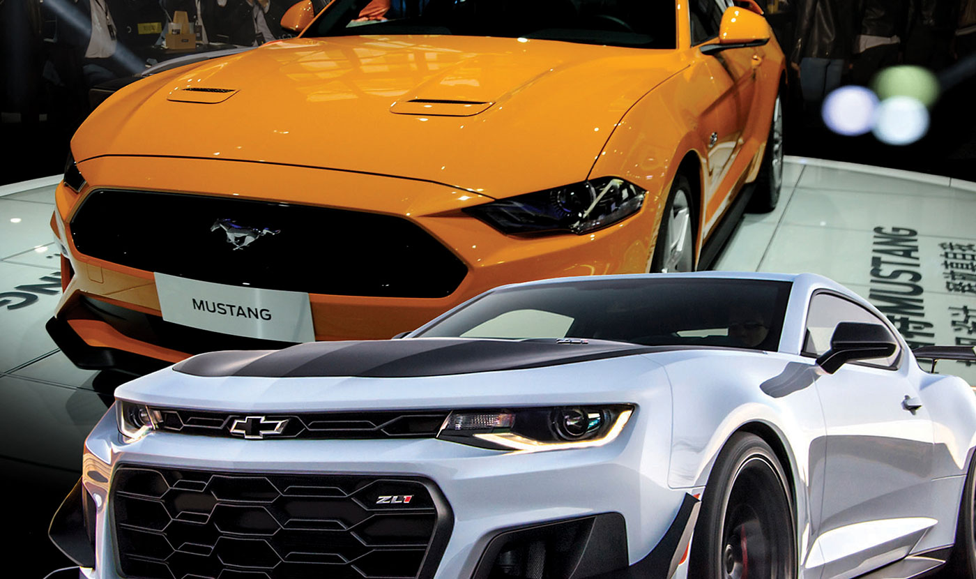 790bc800 SHANGHAI -- Few feuds are as fanatical as the Ford Mustang-Chevy Camaro  throwdown, a decades-old emblem of American consumer demand for throttle  power and ...