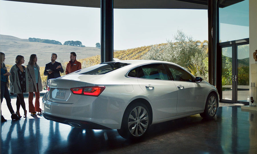 Gms Unbranded Ad For Chevy Malibu Wins New Nielsen Award