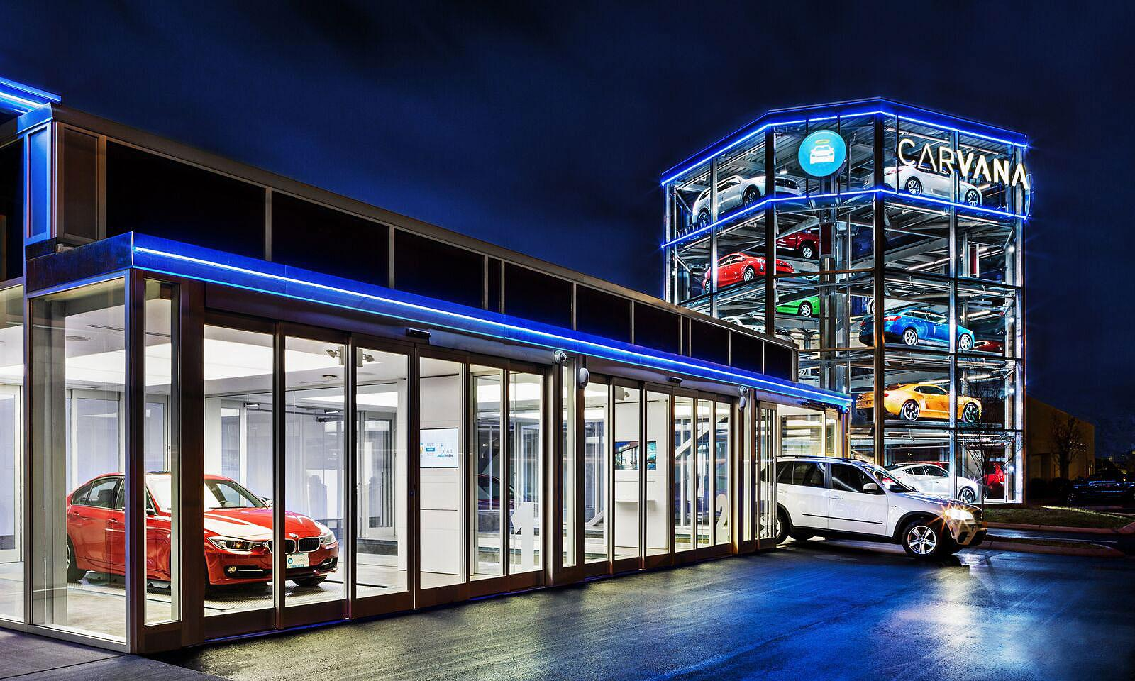 Carvana Cars In Vending Machines A Fading Ipo And An Ex Con Behind Them