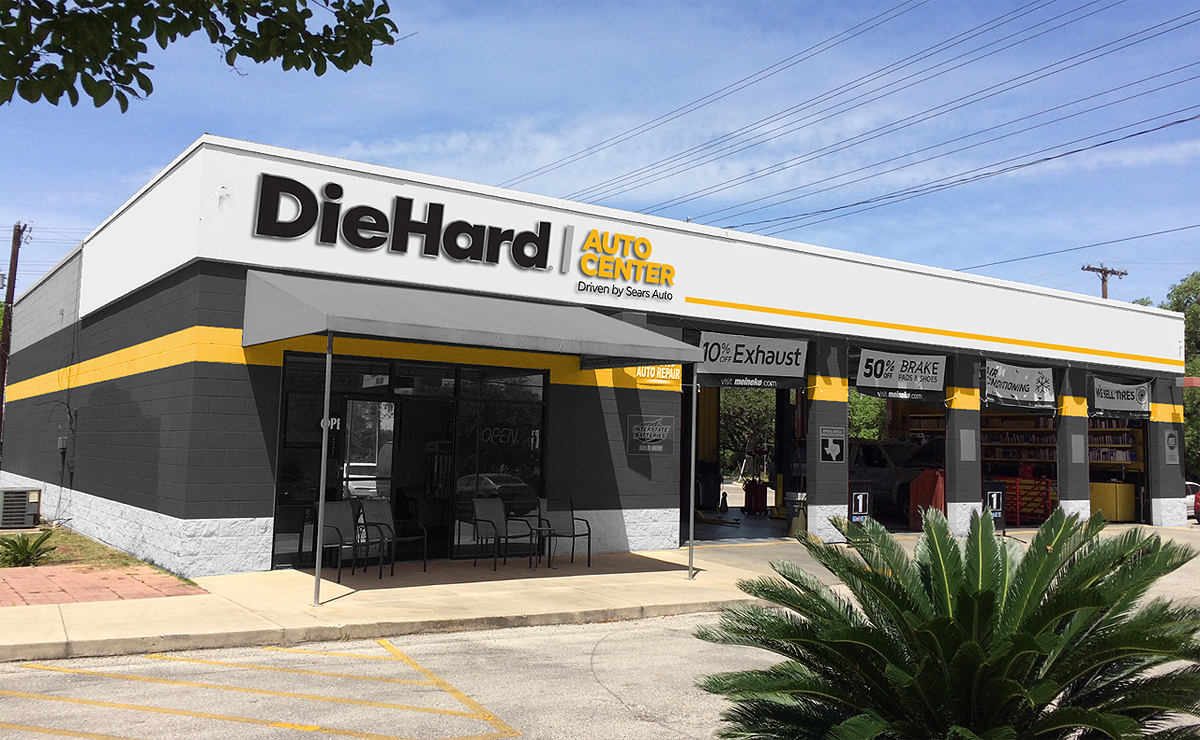 Sears launches free-standing pilot DieHard Auto Center