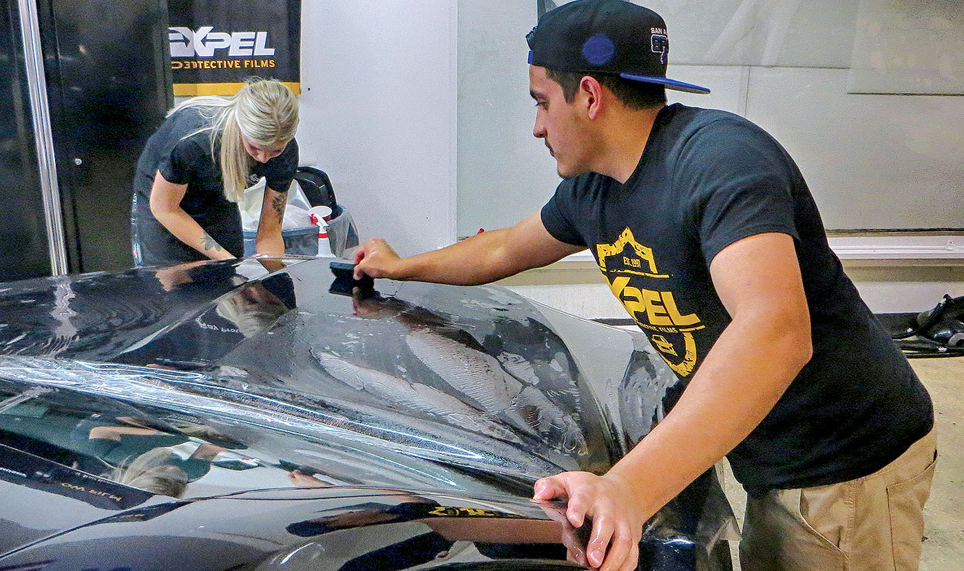 Paint protection film sales mean big profits for service