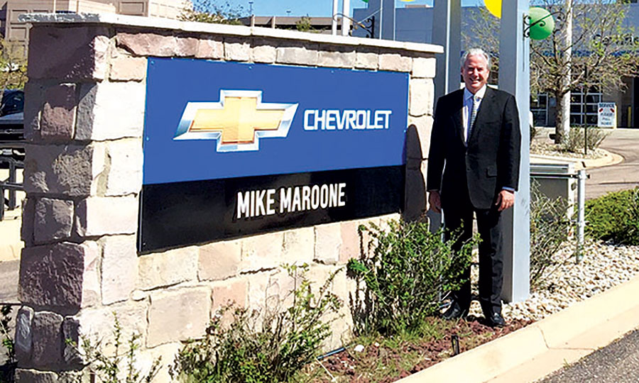 Mike Maroone Shown At One Of His New S Chevrolet North In Colorado Springs Colo Said I D Like To Be A Regional Player