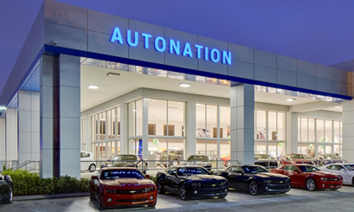 Autonation Inc S Third Quarter Net Income Rose On Gains In The Company Parts And Service Used Vehicle Finance Insurance Businesses