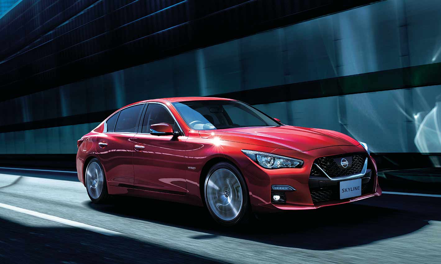 Nissan Luxury Car >> Nissan Gives Japan Version Of Infiniti Q50 Hand Free Upgrade