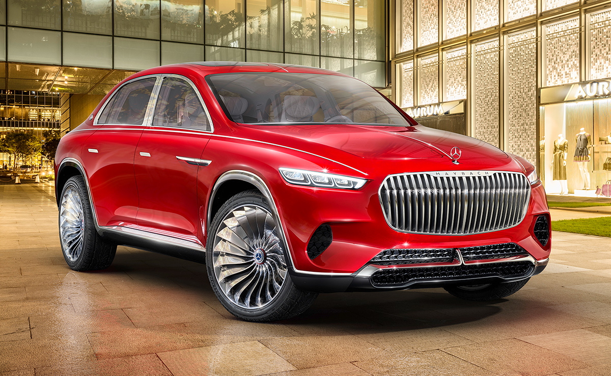 Mercedes To Build Maybach Suv At Alabama Plant