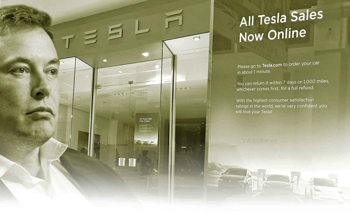 What does Tesla's new online focus mean for consumers