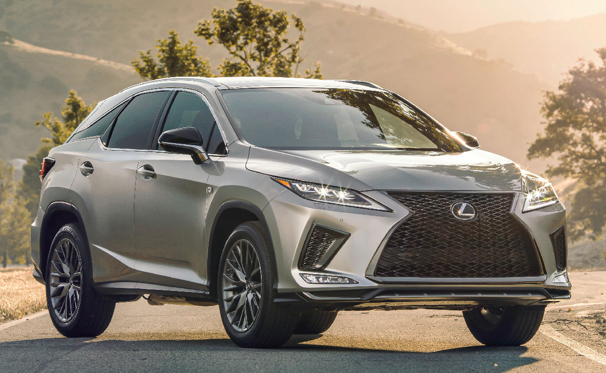 The 2020 Lexus Rx350 And Rx450hl Are Here With Touch Screens