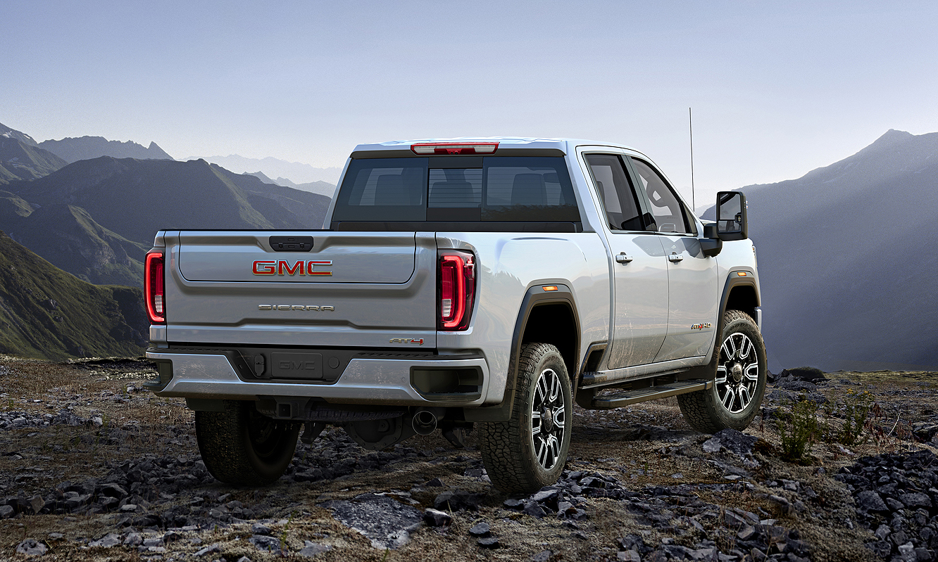 Gmc Adds At4 Subbrand Sierra 1500 Features To Hd Lineup