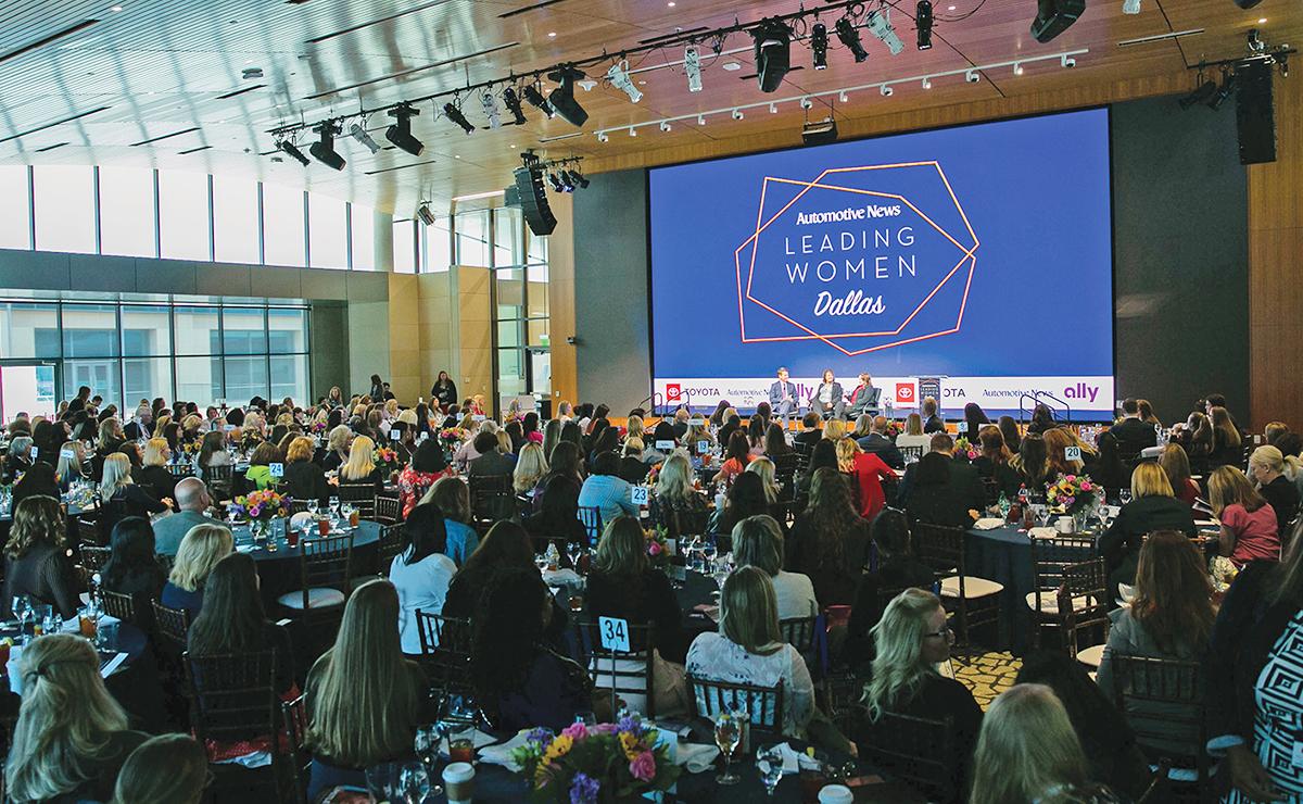 Automotive News Leading Women regional conference in Dallas