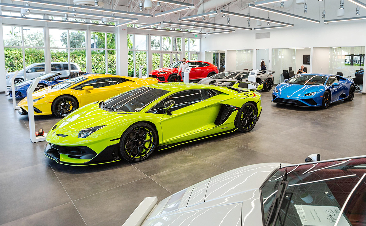 Exotic Ultraluxury Car Dealers Adjust To Tight New Used Inventories
