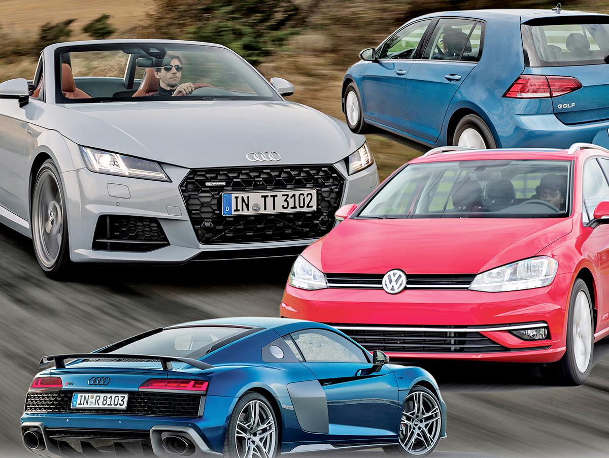 Audi kills TT, VW cuts Golf lineup to make room for EVs | who make audi cars