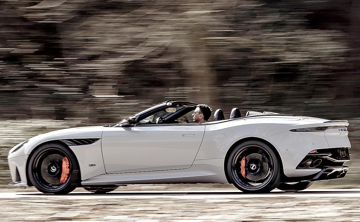 Aston Martin Unveils Droptop Dbs Superleggera