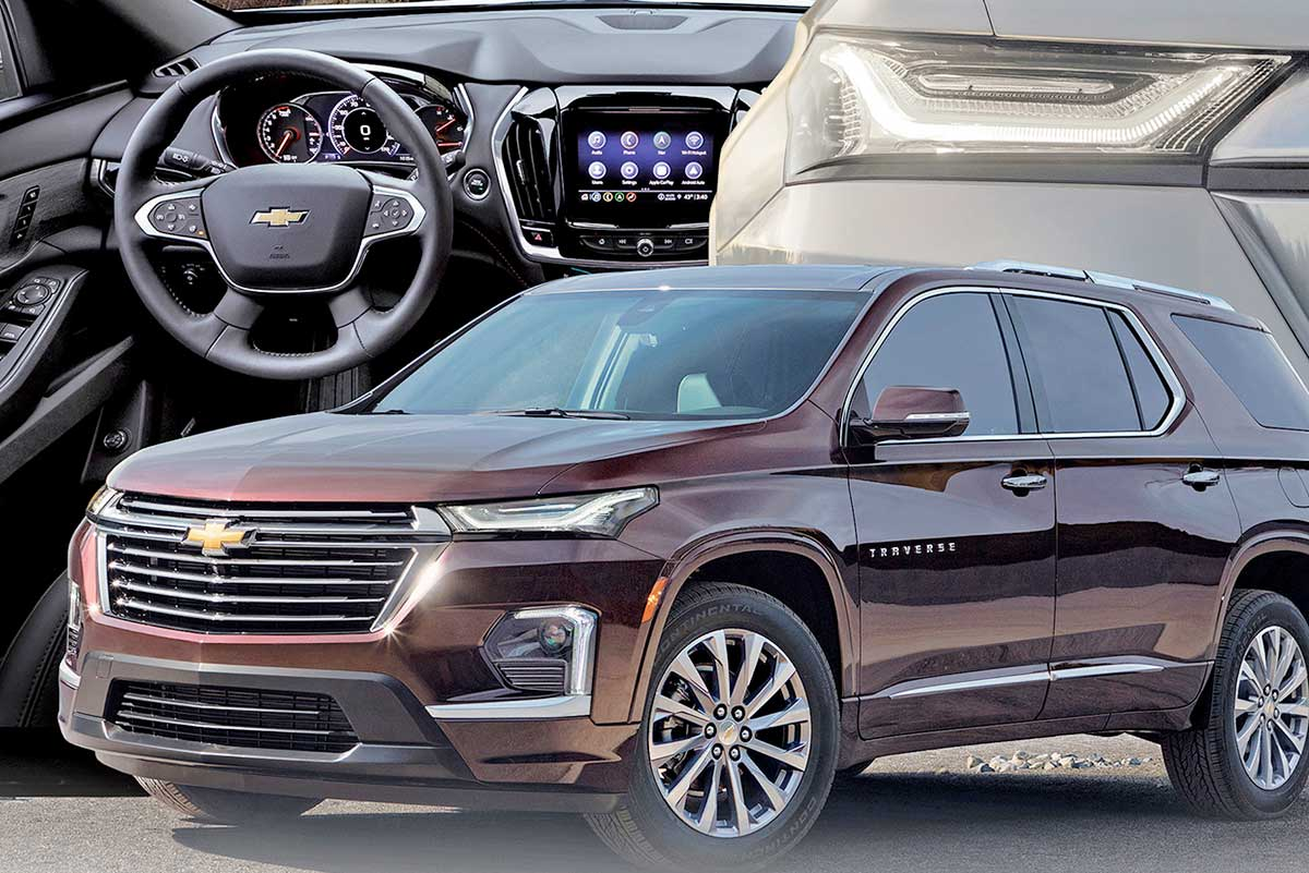 2021 Chevy Traverse Concept and Review