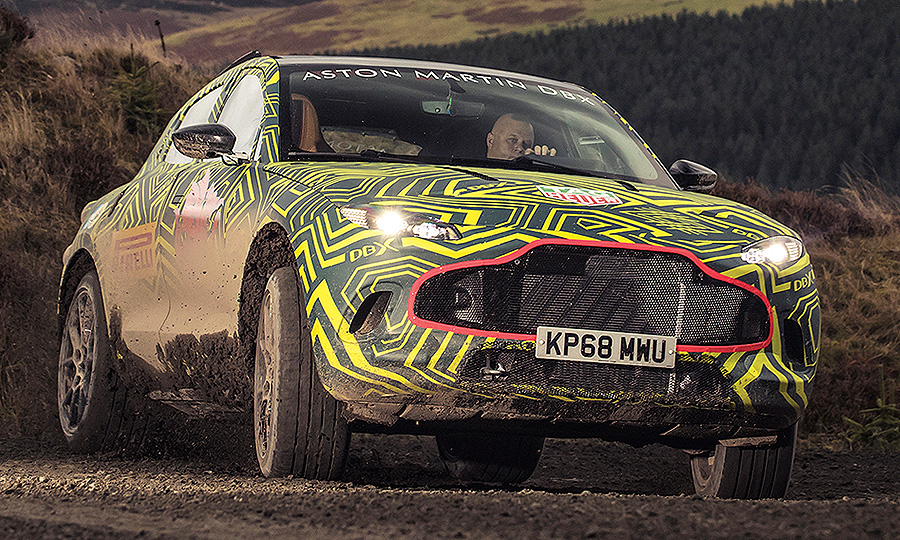 Aston Martin Pins Sales Growth Hopes On Utility Vehicle