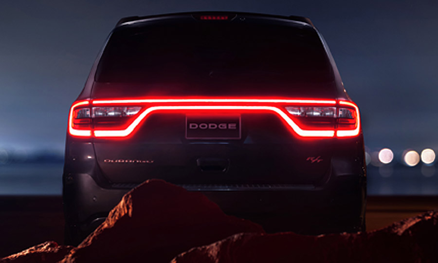 It Costs 380 To Replace The Menacing Taillight On 2017 Dodge Durango Suv