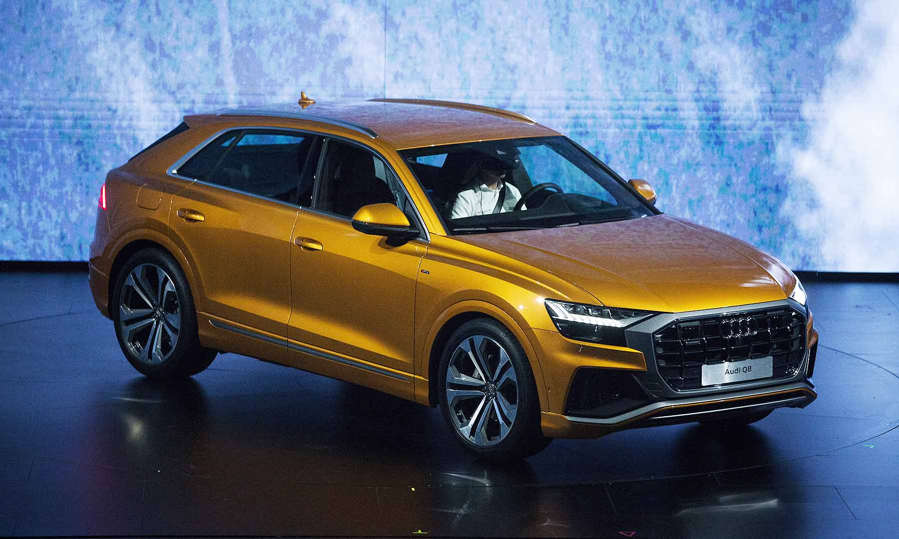 מעולה Audi Q8: 4 key design cues UC-74