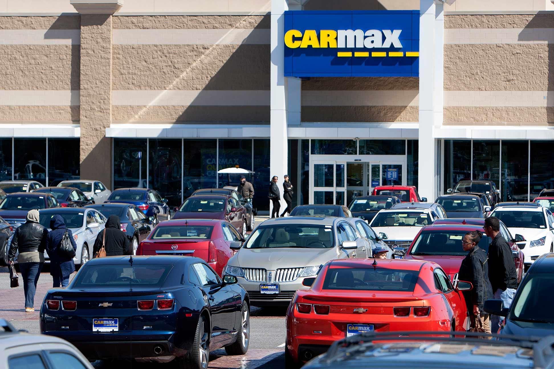 Carmax Sales Rise Despite Slower Traffic Tax Refund Delays