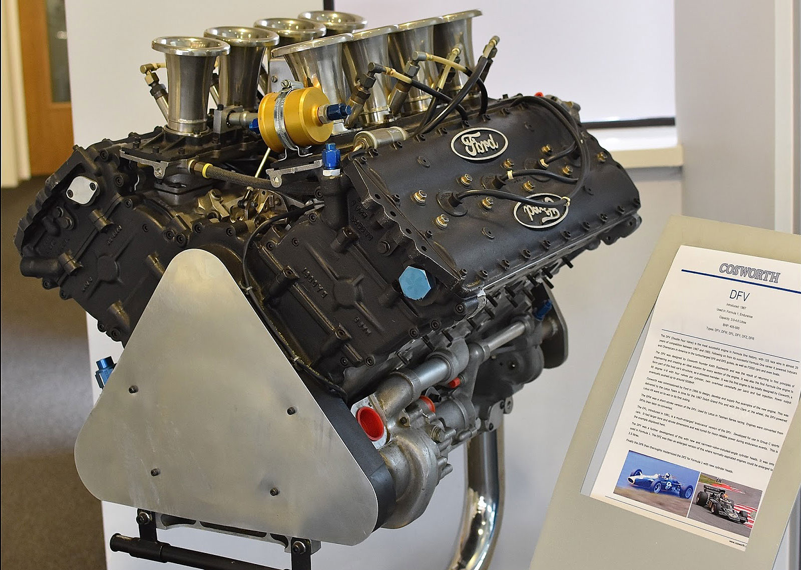 Ford-Cosworth aimed engine program well beyond a powerplant