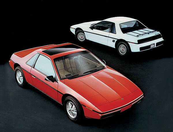 The Pontiac Fiero Was Good Looking But A Small Oil Reservoir Led To Engine Failures And Sometimes Fires Car Had Five Year Run