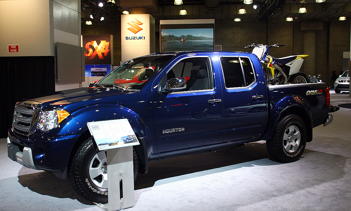 Build A Nissan >> Nissan Hatches Plan To Build Frontier Based Pickup For Suzuki