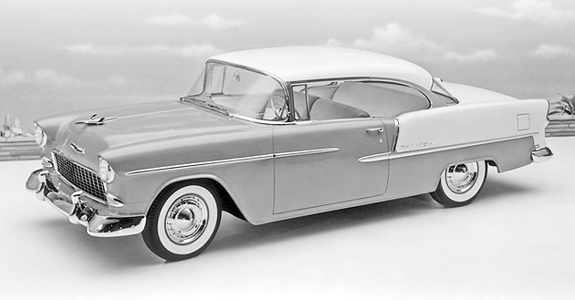 Sleek Bel Air Became Symbol Of Changing 1950s Culture