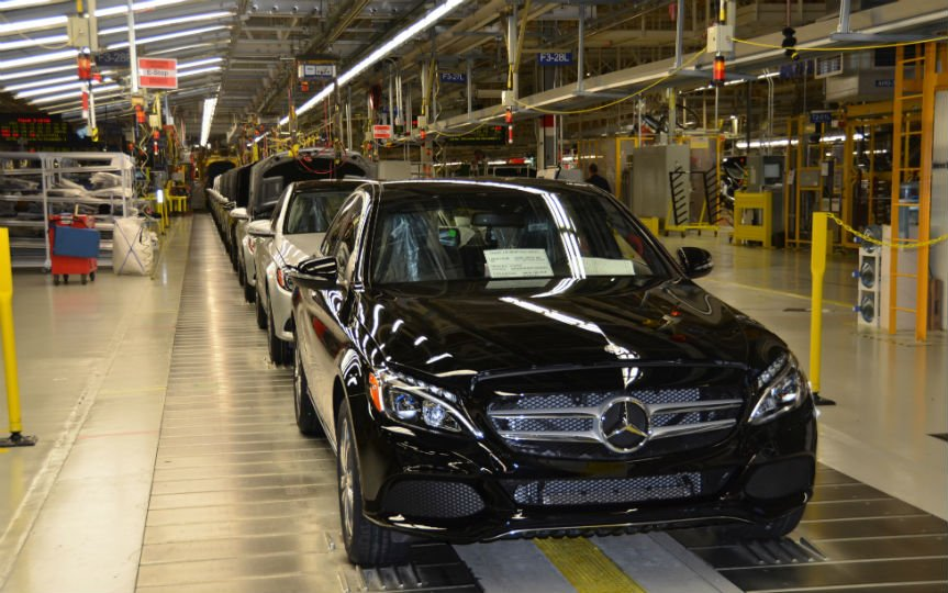 Mercedes Plant Has Highest Per Hour Labor Cost In U S Vw And Bmw Pay Least