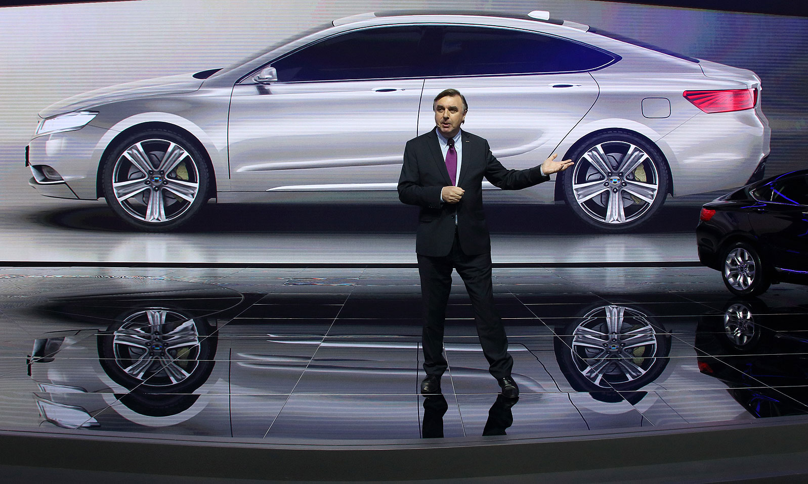 Geely design boss Horbury gets Volvo's sister brand to think big