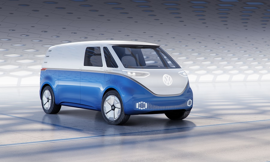 c5404fd75a VW  Retro-styled electric delivery van is production-ready