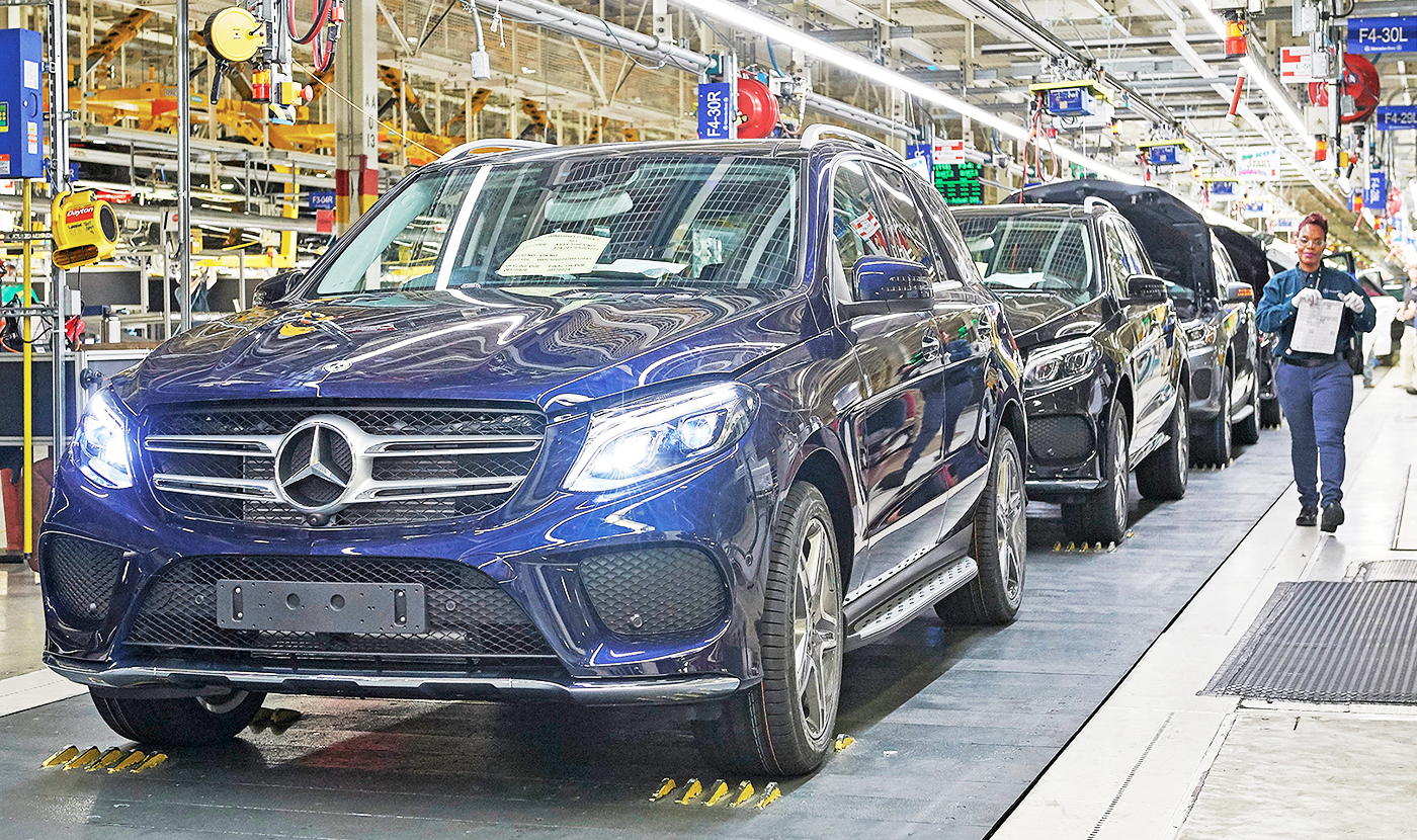 Mercedes Plans To Spend 1 Billion At Its Alabama Plant Build Battery Suvs