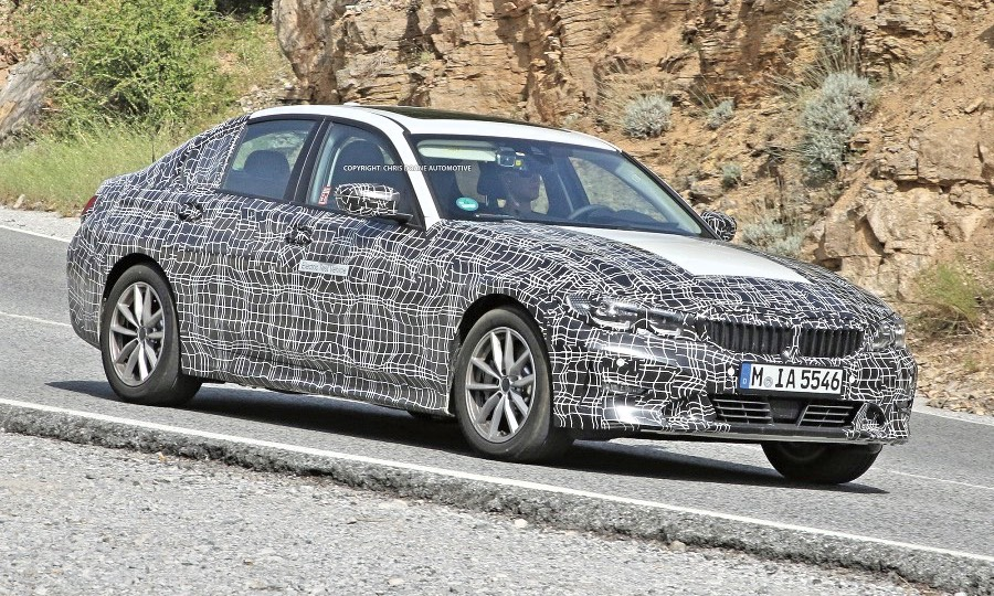 Bmw Tests Electric 3 Series In Europe
