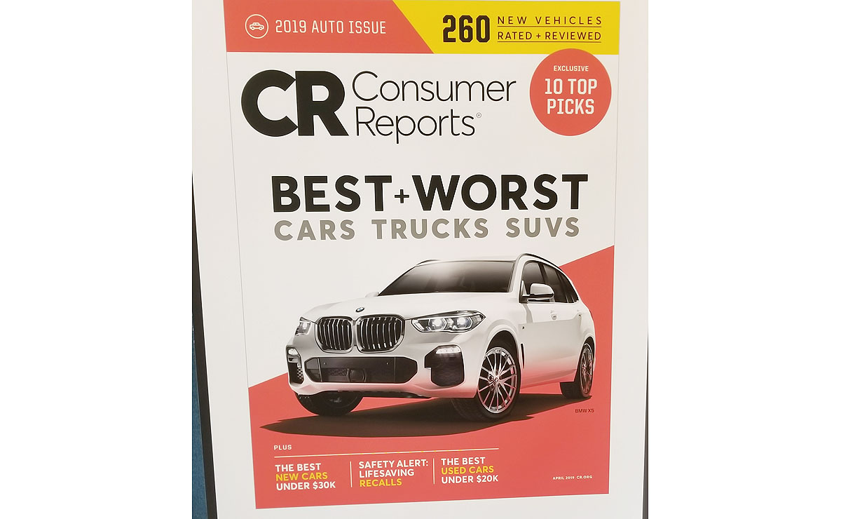 Consumer Reports 2018 Car Brand Report Card