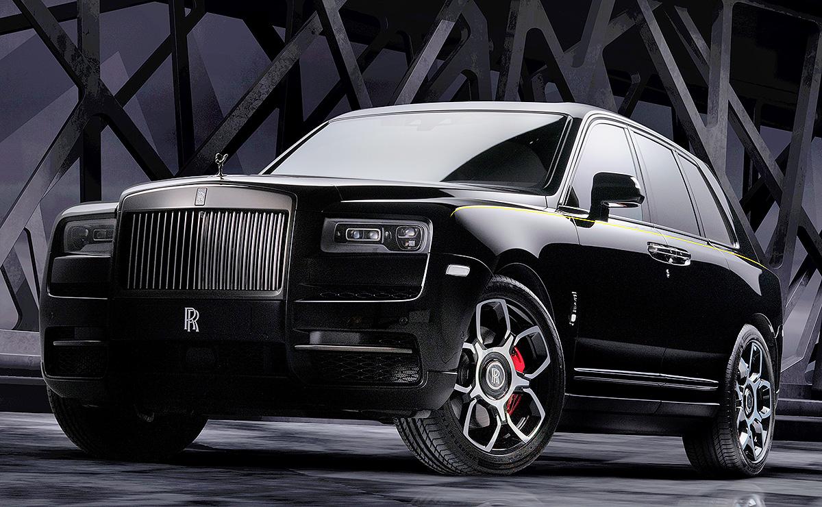 Rolls Royce Adds Cullinan Black Badge For 2020