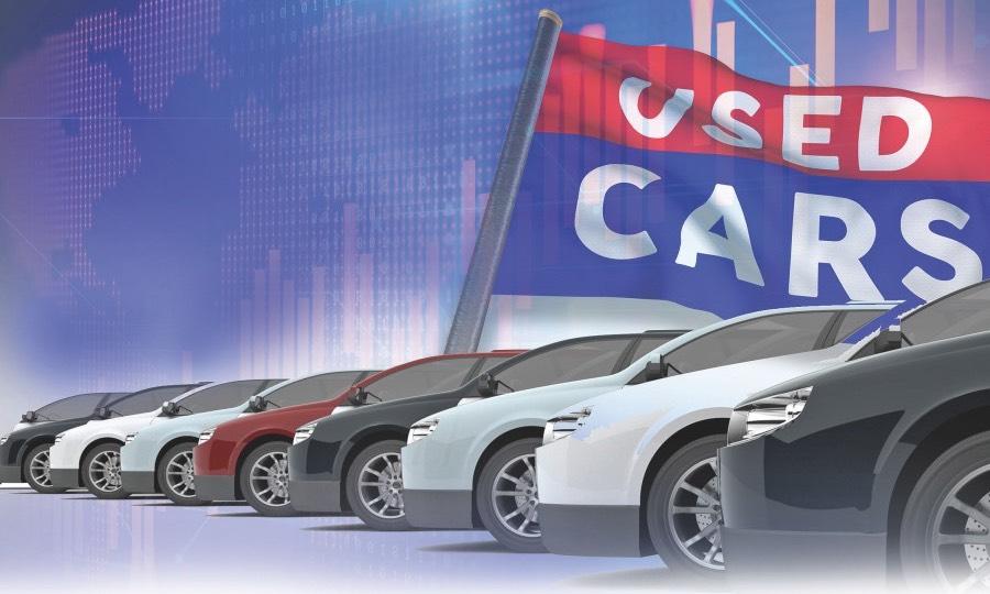 used-car sales
