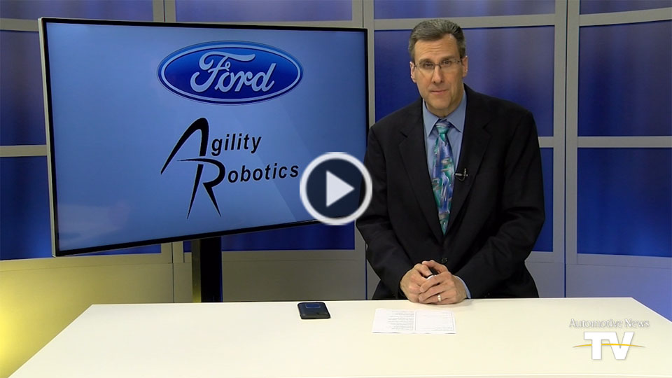 AutoNews Now: Ford aims to deliver with two-legged robots, AVs