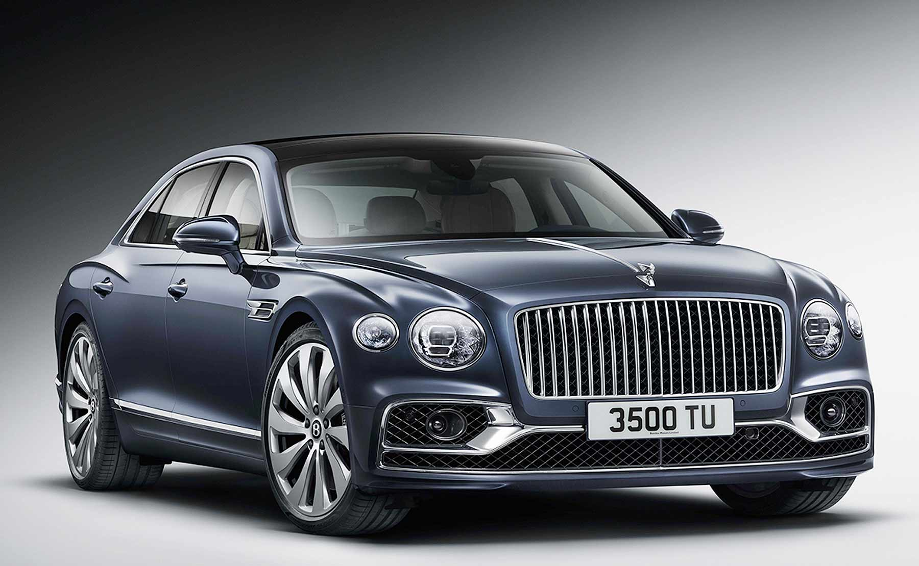 Bentley Flying Spur grows, adds tech to rival Mercedes AMG S