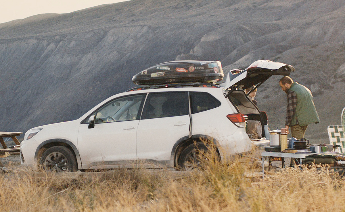 Subaru Forester Ad Campaign Launches